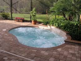 Pool Designs For Small Backyards Small Inground Swimming Pool
