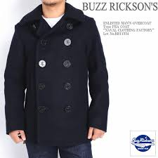 is the buzz rickson s due from the introduction of the type pea coat naval clothing factory br11559