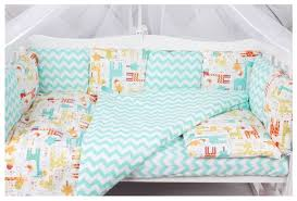 <b>Amarobaby комплект в кроватку</b> Жирафики (4 предмета ...
