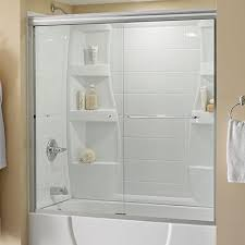 clear bathtub doors