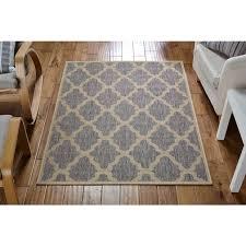 flatweave rugs trellis grey rugs back