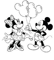 Mickey Mouse Color Page Classy Idea Free Coloring Pages Printable