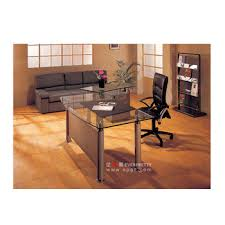 glass top office table. Modern Glass Top Office Table Design Wooden Director With Chair D