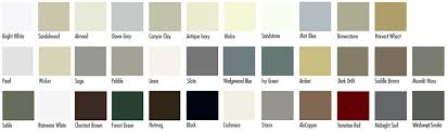 Gentek Aluminum Colors Chart Toronto Eavestrough Installation And Replacements