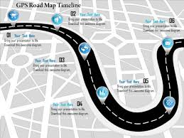 road map powerpoint template free flow charts powerpoint templates