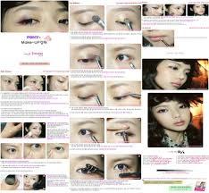 tutorial 3 elegant makeup with korean makeup step by step with step by step korean makeup