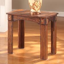 solid wood end tables6