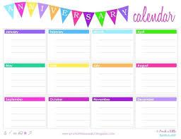 birthday calendar template free download calendar writable sop format sample typable template 2017