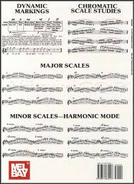 Details About Flute Fingering Chart With Major Minor Scale Studies Chromatic Scales