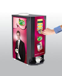 Tea Coffee Vending Machine With Coin Gorgeous Coin Operating Tea Coffee Vending Machine SENSO FOODS PVT LTD