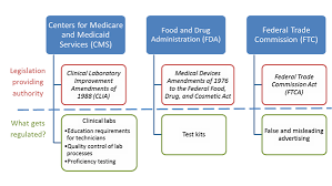 Chart Displaying Cms Fda And Ftc And Their Roles Human