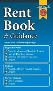 Rent Book Template England Free Rent Book Template Free
