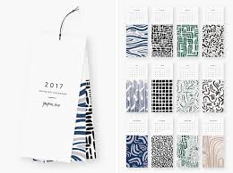 Small Picture 13 Modern Wall Calendars To Get You Organized For 2017 CONTEMPORIST