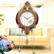 large wall clock with pendulum antique white regard to retro style vintage clocks regulator pen clock pendulum wall clocks with antique