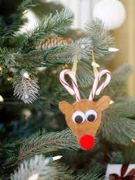 Candy Cane Decorations For Christmas Trees How to Make a Candy Cane Reindeer Ornament HGTV 46