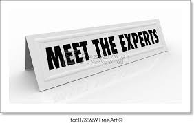 name tent free art print of meet the experts name tent card professionals 3d