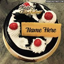 Create Happy Birthday Cake Name Pics