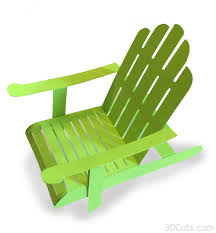 Tutorial 3D Adirondack Chair 3DCutscom