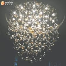 glass ball lighting. Hanging Ball Light Fixtures Amazing Design Sparkling Clear \u2026 In Glass Chandelier (View Lighting