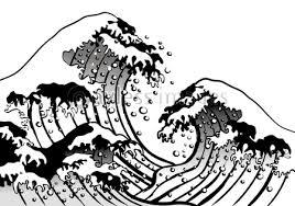 北斎海筆の写真イラスト素材 Xf3635156552 ペイレスイメージズ