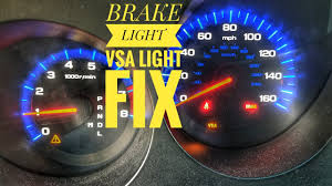 Abs Vsa Brake Light On Brake Light Vsa Master Cylinder Switch Test Fix Tutorial
