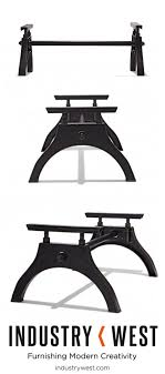 Iron Coffee Table Base The Iron Horse Coffee Table Base Is Our Companion Piece To The