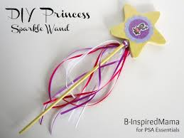 create a wand for your princess at b inspiredmama com