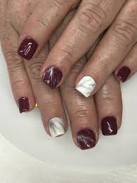 Light Maroon Nails Maroon Marble Gel Nails Light Elegance Checking Out Your