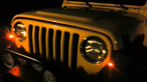 jeep tj led turn signal wiring jeep image wiring tj led in place of the stock parking lights on jeep tj led turn signal led turn signal wiring diagram