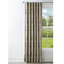 style selections 95 in grey polyester back tab room darkening standard lined single curtain panel