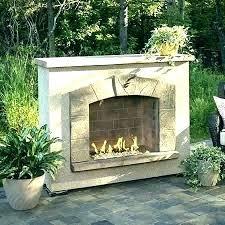 outdoor masonry fireplace kits stone ontario