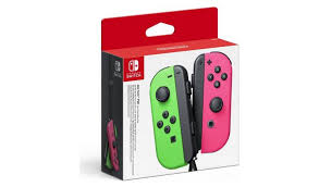Buy <b>Nintendo</b> Switch <b>Joy</b>-<b>Con</b> Controller <b>Pair</b> - Neon Green & Pink ...