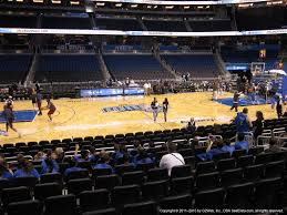 Amway Center Section 115 Orlando Magic Rateyourseats Com