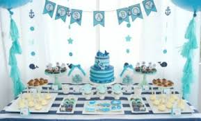 A Boy's Whale Themed Baby Shower