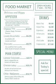 restaurant menu maker free free menu maker design restaurant menus adobe spark