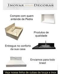 O banheiro e o lavabo são ambientes importantíssimos na nossa casa e seus itens são peças essenciais para a decoração perfeita. Pia De Banheiro De Granito Preto Sao Gabriel 55 X 35 Mercado Livre