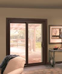endure vinyl sliding patio doors real wood interior with vinyl exterior