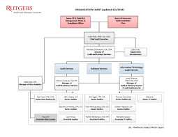 Rutgers Chart Organizational Chart Audit And Advisory Services