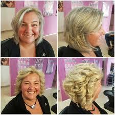 Blond účesy Salón Pink