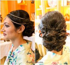 south asian bridal makeup artist and hair stylist bride shimul four season hotel west lake village los angeles indian wedding makeup artist angela