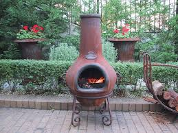 lovely terracotta chiminea fire pit clay fire pit chiminea clay fire pits