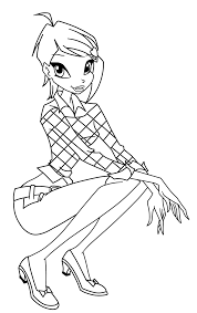 Winx Club Stella coloring pages bloomFree Coloring Pages For Kids ...