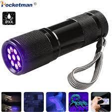 ღ ღMini UV El Feneri Ultra Violet Ultraviyole nmez rekkep aretleyici Alg  lama ale AAA Lambas - w874