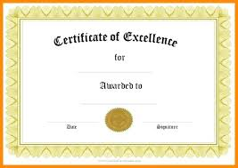 Free Printable Certificate Templates Word Participation