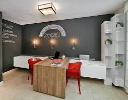 T Design Ideas Orange Red Chairs Enliven The Home Office  20 Chalkboard  Paint Ideas To