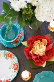 Wedding Paper Flower Centerpieces Diy Paper Flower Centerpieces For A Summer Solstice Party