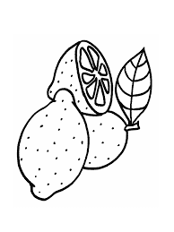 Small Picture Lemon Coloring Page Coloring Home