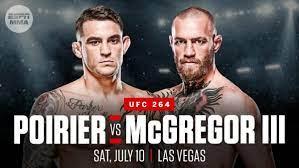 Dustin Poirier vs Conor McGregor 3 Live ...