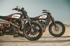 the indian scout ftr1200 custom is the street legal flat track