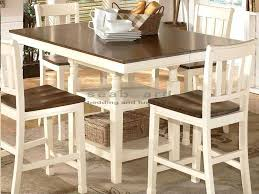 white pub table awesome white bistro table and chairs square two tone white pub table myrtle white pub table